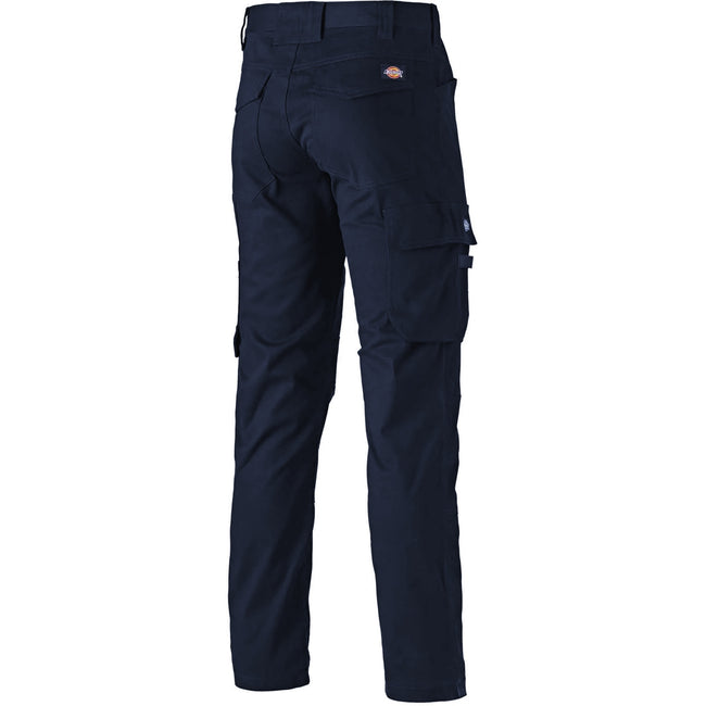 Navy - Back - Dickies Adults Unisex Lead-In Flex Pants
