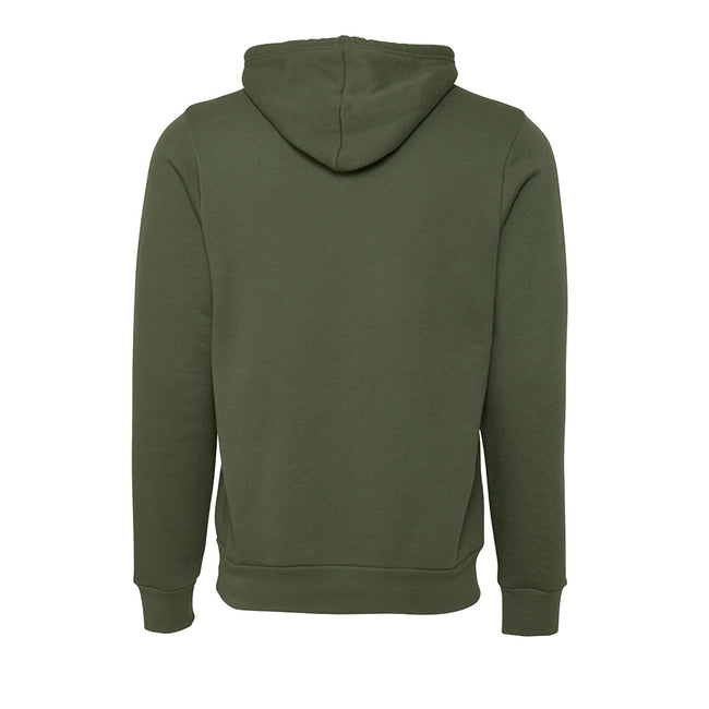 Military Green - Lifestyle - Canvas Unisex Pullover Hoodie