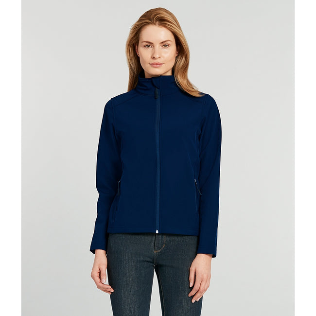 Royal Blue - Front - Gildan Womens-Ladies Hammer Soft Shell Jacket