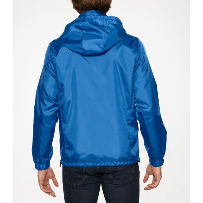 Orange - Front - Gildan Mens Hammer Windwear Jacket