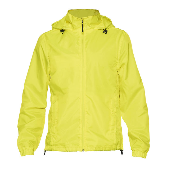 Safety Green - Front - Gildan Mens Hammer Windwear Jacket