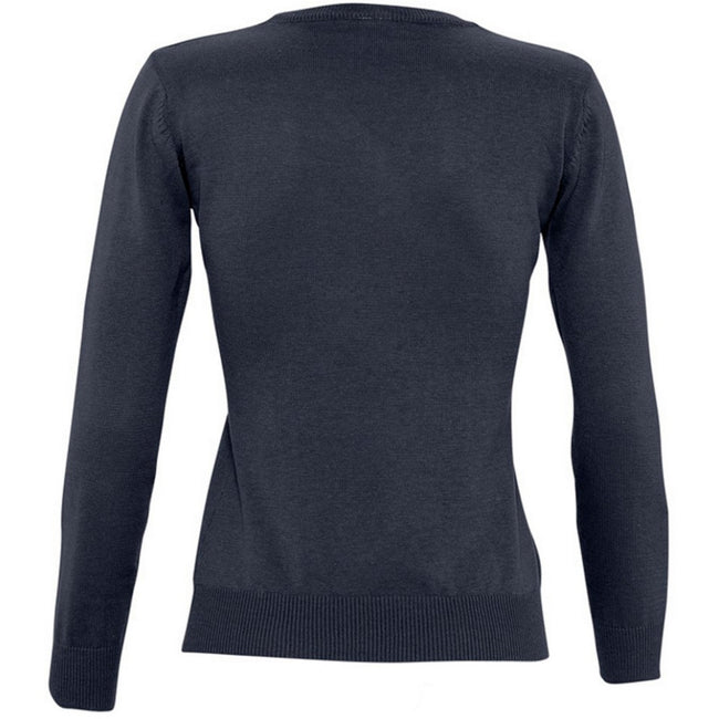 Red - Lifestyle - SOLS Womens-Ladies Galaxy V Neck Sweater