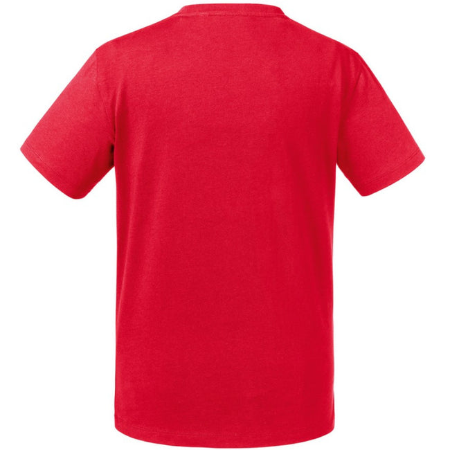 Classic Red - Front - Russell Kids-Childrens Pure Organic T-Shirt