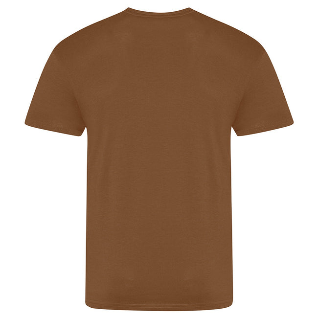 Deep Black - Front - AWDis Just Ts Mens The 100 T-Shirt