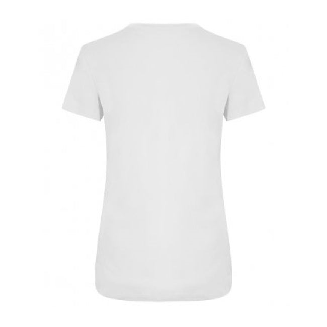 Arctic White - Back - Ecologie Womens-Ladies Ambaro Recycled Sports T-Shirt