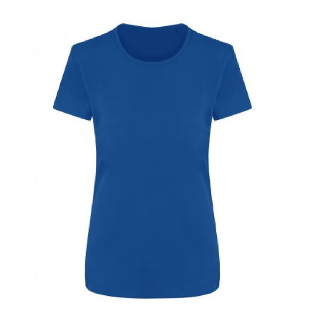 Royal Blue - Front - Ecologie Womens-Ladies Ambaro Recycled Sports T-Shirt