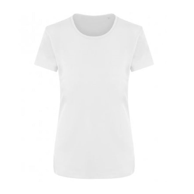Arctic White - Front - Ecologie Womens-Ladies Ambaro Recycled Sports T-Shirt
