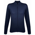 Black - Pack Shot - SOLS Womens-Ladies Gordon Full Zip Cardigan