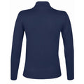 Navy - Front - SOLS Womens-Ladies Gordon Full Zip Cardigan