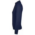 Navy - Back - SOLS Womens-Ladies Gordon Full Zip Cardigan