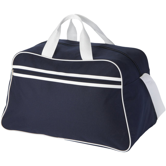 Navy - Back - Bullet San Jose Sport Bag