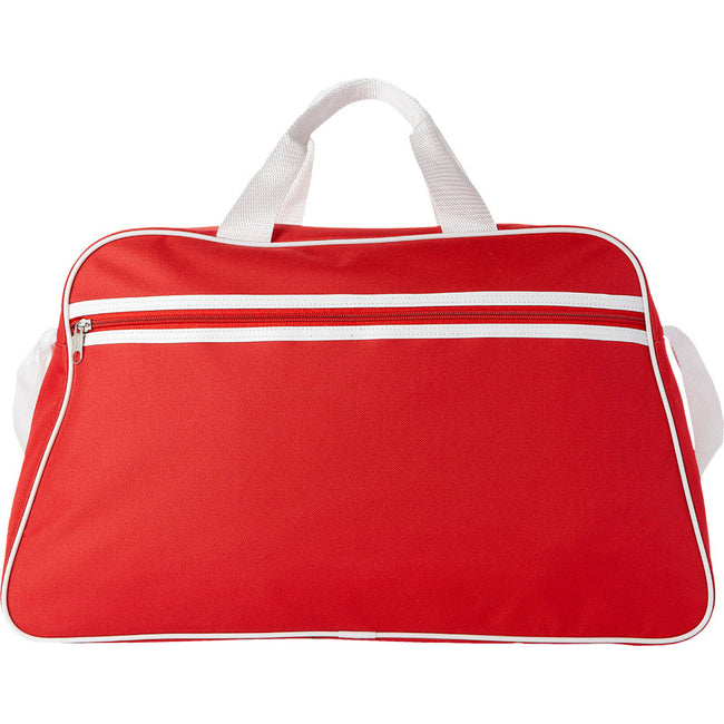 Red - Front - Bullet San Jose Sport Bag