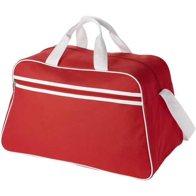 Red - Back - Bullet San Jose Sport Bag