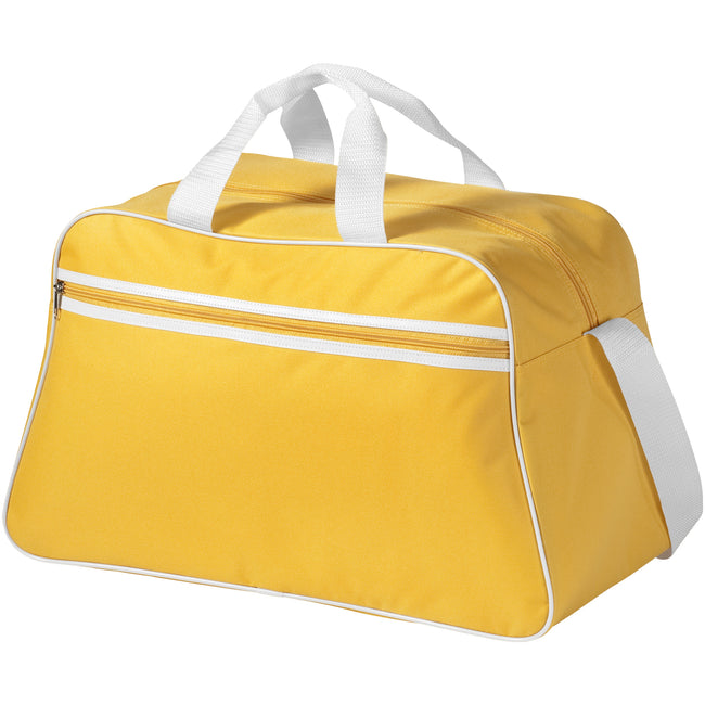 Yellow - Front - Bullet San Jose Sport Bag