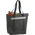 Heather Charcoal - Pack Shot - California Innovations 56-Can Lasana Cooler Tote