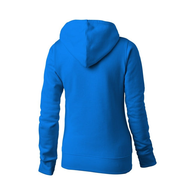 White - Front - Slazenger Womens-Ladies Alley Hooded Sweater