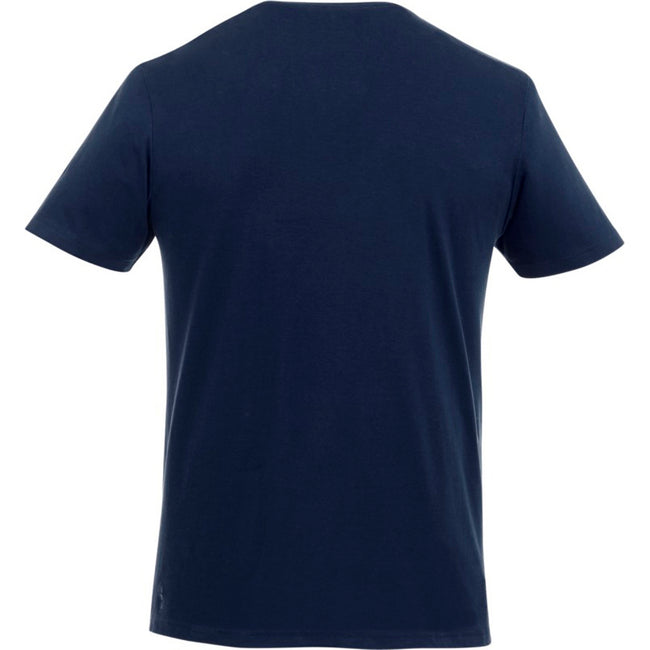 Heather Charcoal - Front - Elevate Mens Finney Short Sleeve T-Shirt