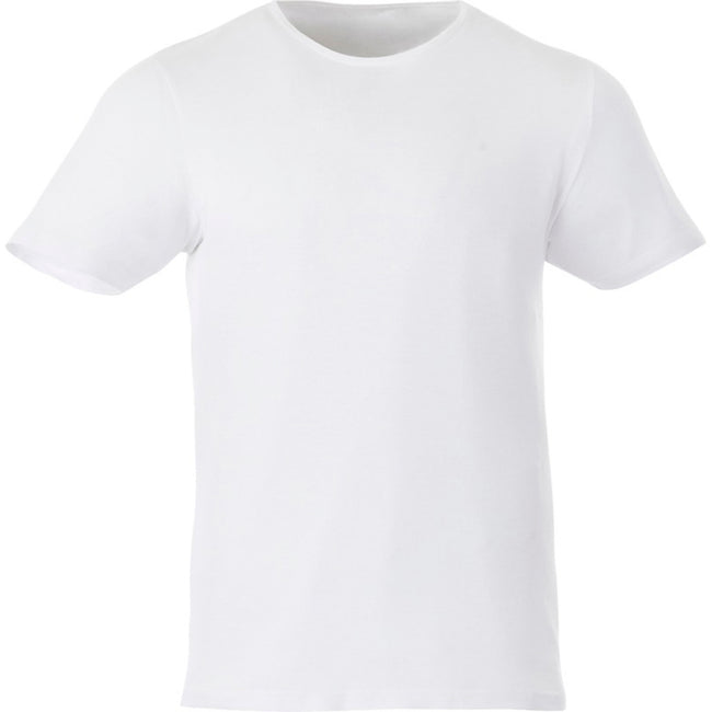Navy - Front - Elevate Mens Finney Short Sleeve T-Shirt