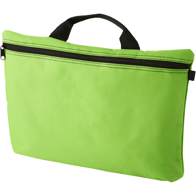 Lime - Front - Bullet Orlando Conference Bag (Pack of 2)