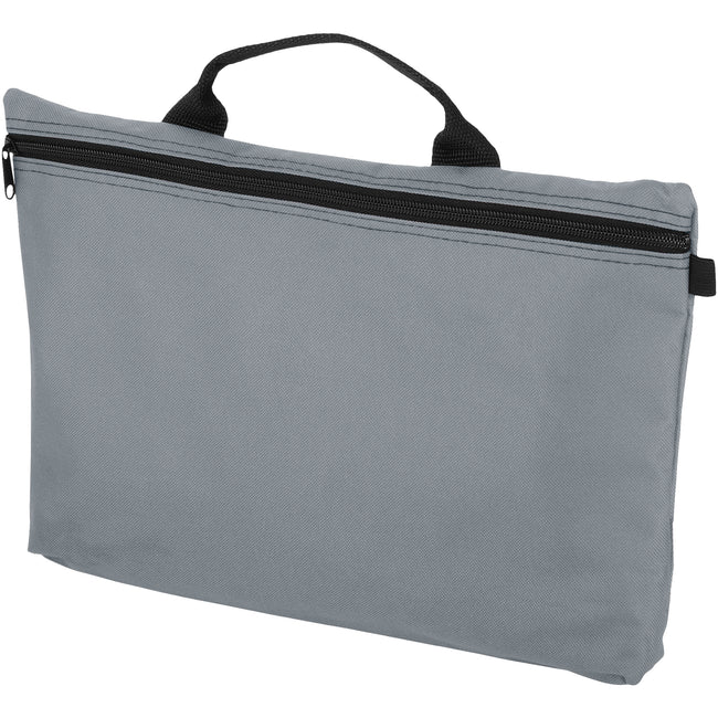 Gray - Front - Bullet Orlando Conference Bag (Pack of 2)