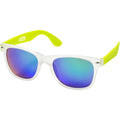 Lime-Transparent - Front - US Basic California Sunglasses (Pack of 2)