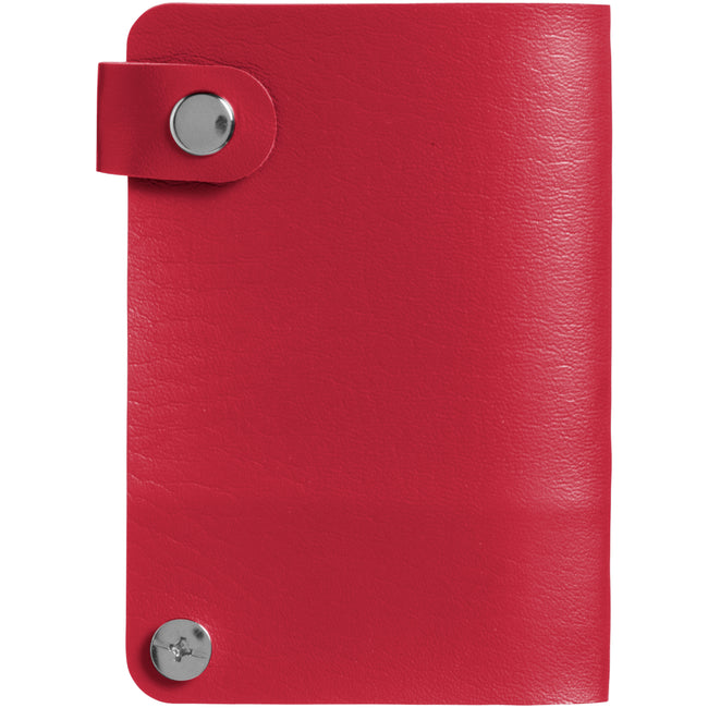 Red - Front - Bullet Valencia Card Holder