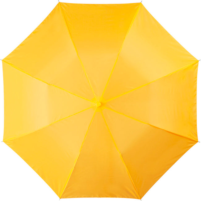 Yellow - Front - Bullet 20 Oho 2-Section Umbrella