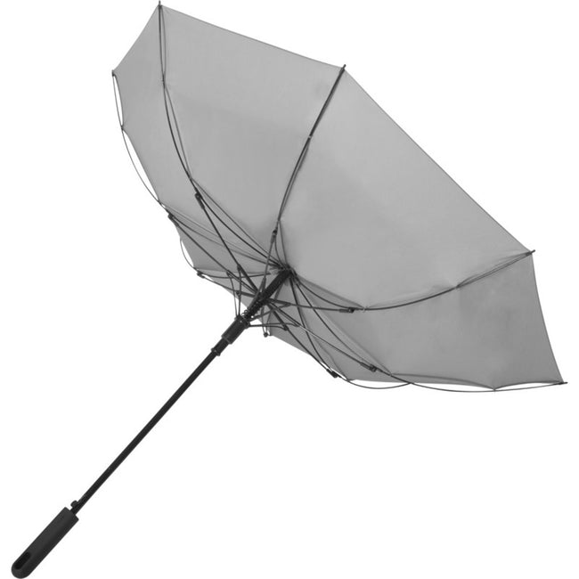 Gray - Side - Marksman 23 Inch Noon Automatic Storm Umbrella