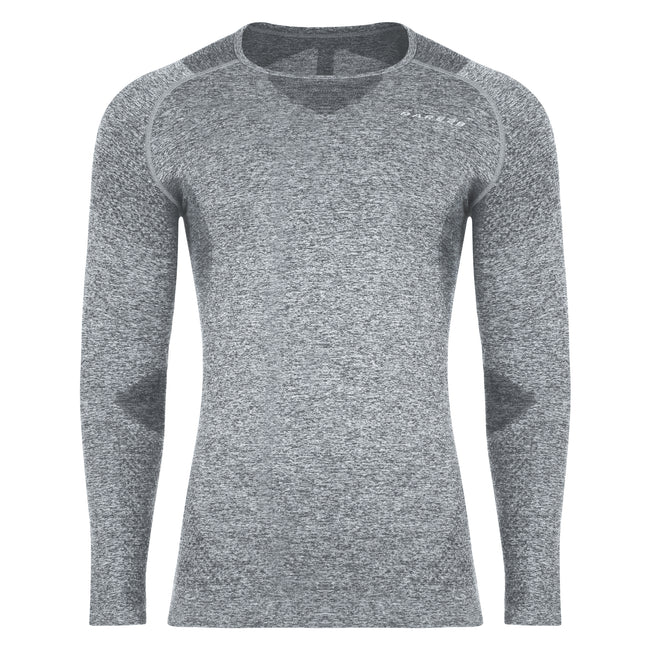Charcoal Grey - Front - Dare 2B Mens Zonal III Long Sleeve Baselayer Top