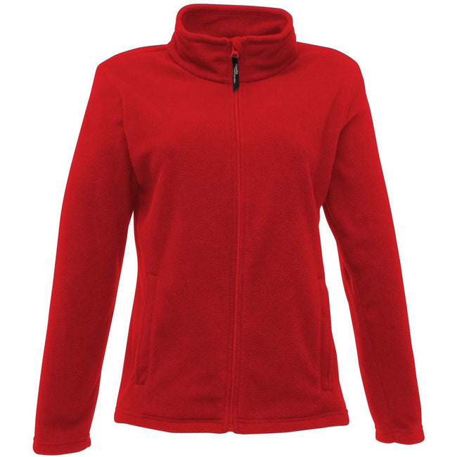 Classic Red - Front - Regatta Womens-Ladies Full-Zip 210 Series Microfleece Jacket
