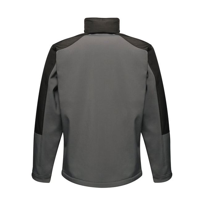 Black-Black - Front - Regatta Mens Hydroforce 3-layer Membrane Waterproof Breathable Softshell Jacket