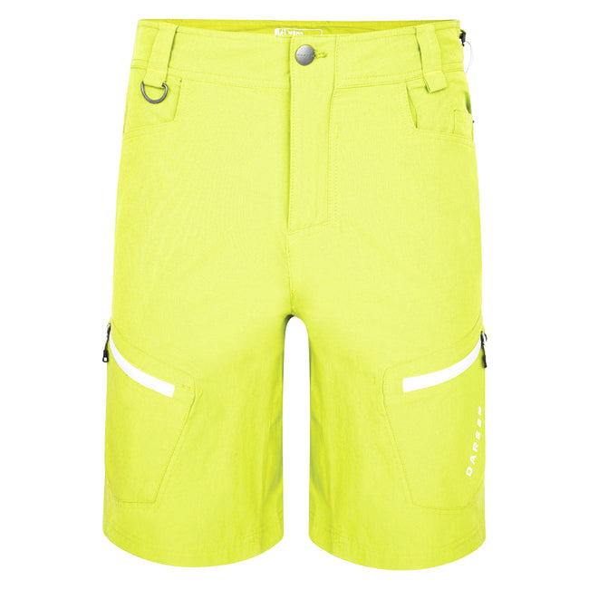 Lime Punch - Front - Dare 2B Mens Tuned In Hiking Shorts