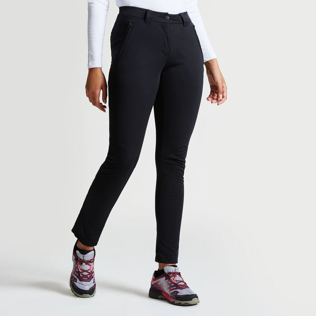 Black - Back - Dare 2B Womens-Ladies Append Slim Fit Ski Pants