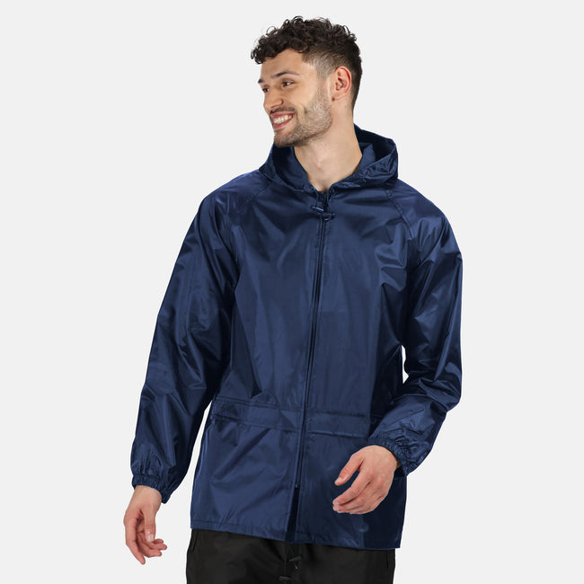 Black - Front - Regatta Professional Mens Pro Stormbreaker Waterproof Jacket