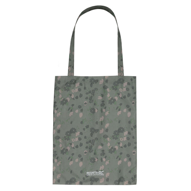 Fauna Green - Front - Regatta Great Outdoors Packable Tote Bag