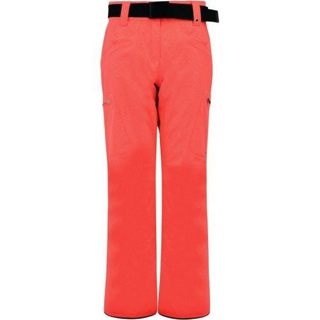 Vibrant Orange - Front - Dare 2B Womens-Ladies Free Scope Waterproof Ski Pants