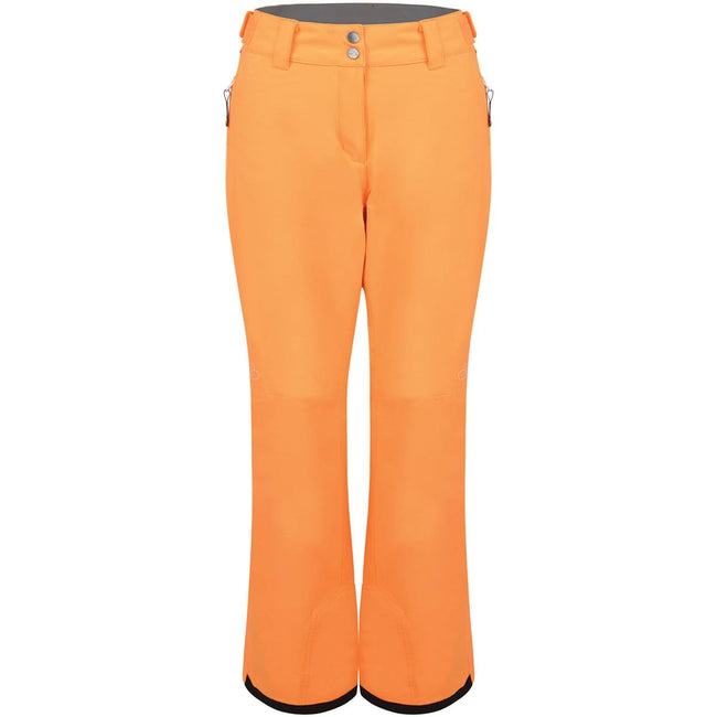 Orange Burst - Front - Dare 2B Womens-Ladies Free Scope Waterproof Ski Pants