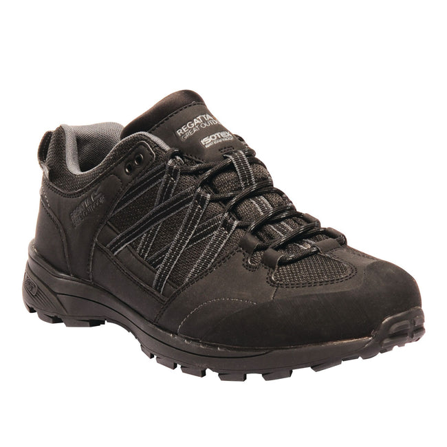 Black-Granite - Front - Regatta Mens Samaris Low II Hiking Boots