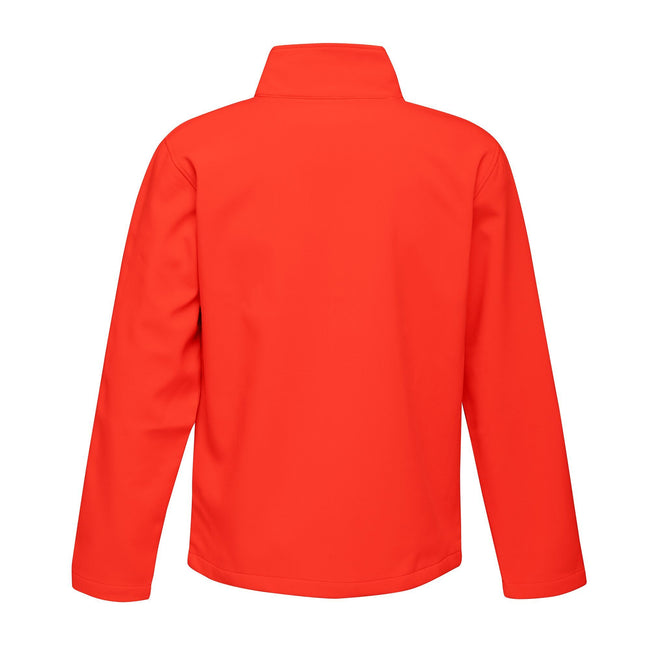 Magma Orange-Black - Back - Regatta Mens Ablaze Printable Softshell Jacket