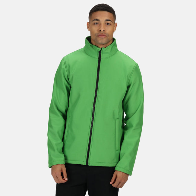Royal Blue-Black - Front - Regatta Mens Ablaze Printable Softshell Jacket