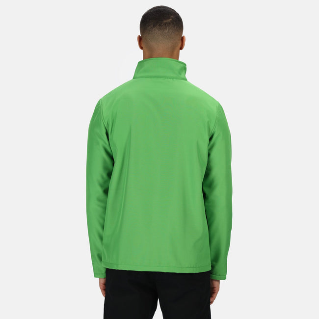 Royal Blue-Black - Back - Regatta Mens Ablaze Printable Softshell Jacket