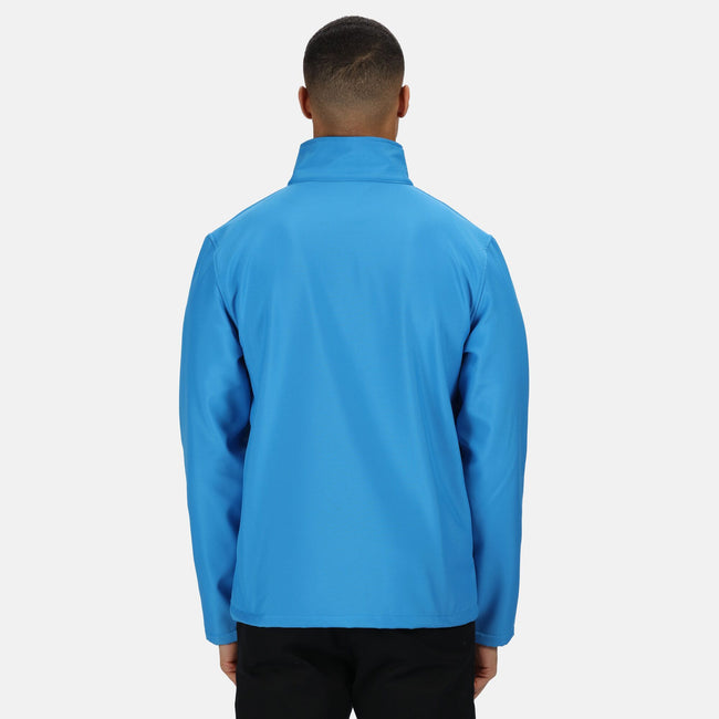 Rock Grey-Black - Front - Regatta Mens Ablaze Printable Softshell Jacket