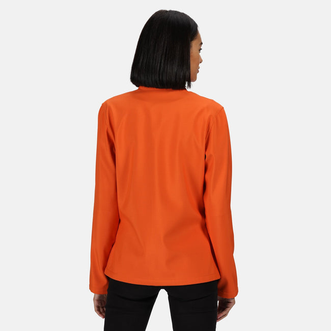 Classic Red-Black - Front - Regatta Womens-Ladies Ablaze Printable Softshell Jacket
