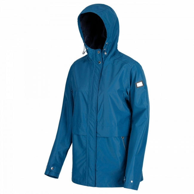 Capri Blue - Front - Regatta Womens-Ladies Bidelia Hooded Jacket