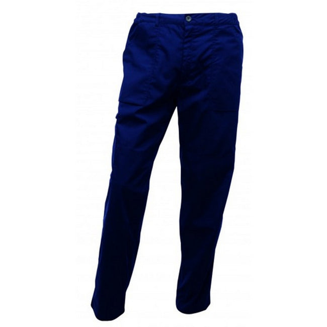 Navy - Front - Regatta Mens Pro Action Trouser
