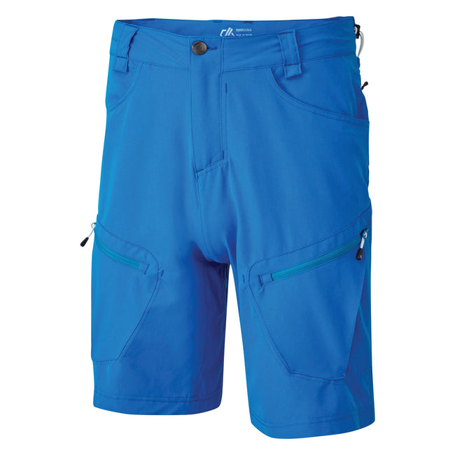 Athletic Blue - Front - Dare 2B Mens Tuned In II Multi Pocket Walking Shorts