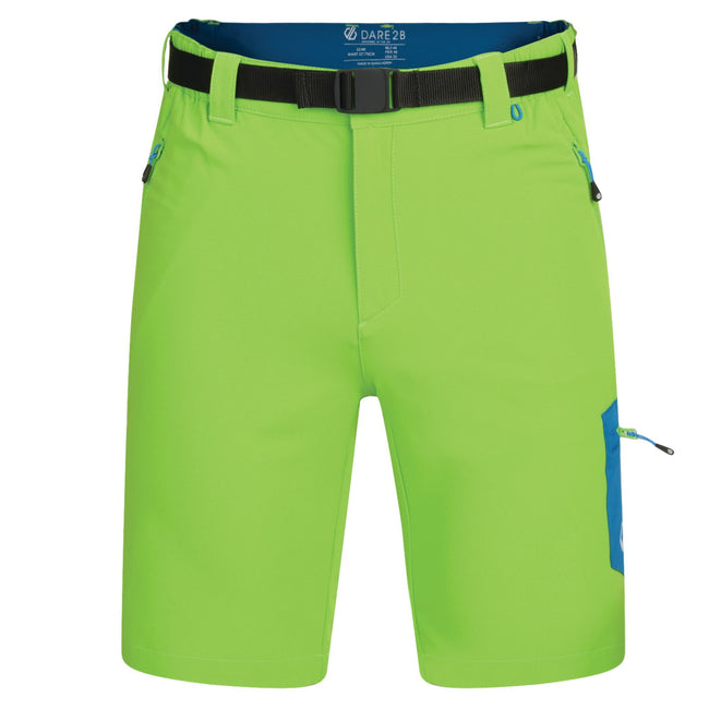 Jasmine Green - Front - Dare 2B Mens Disport Lightweight Multi Pocket Shorts