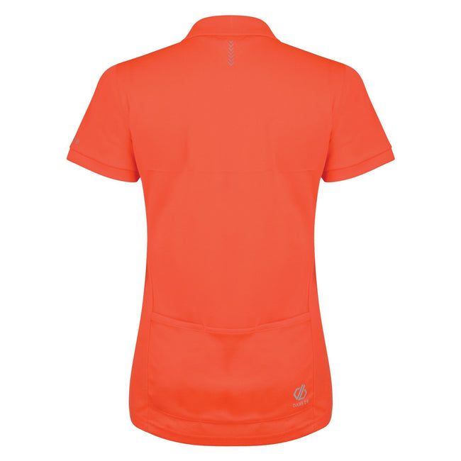 Fiery Coral - Back - Dare 2B Womens-Ladies Set Forth Polo Shirt