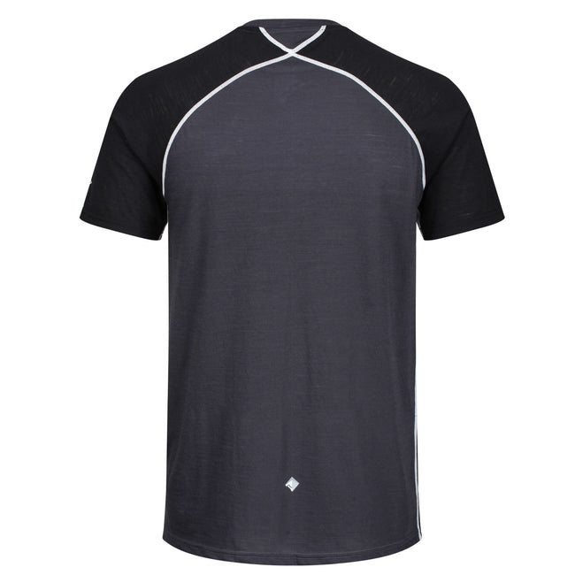 Ash - Pack Shot - Regatta Mens Tornell II Active T-Shirt