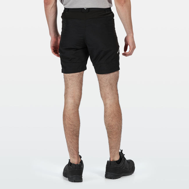 Black - Lifestyle - Regatta Mens Sungari II Walking Shorts